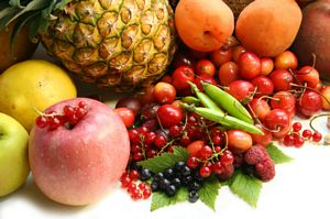 selection of fresh fruit
